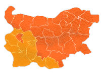 Holidaying in Bulgaria's Southern Regions Map Outline
